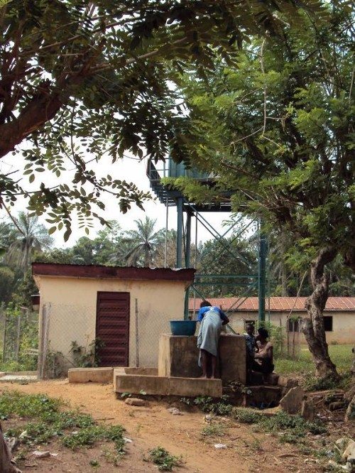 FGN Rural Borehole at Bembe near Orile Owu Osun state